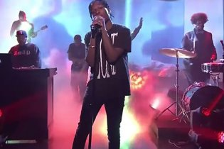 A$AP Rocky Performance on The Tonight Show Starring Jimmy Fallon
