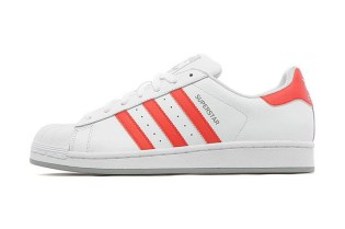 adidas Originals Superstar White/Red JD Sports Exclusive