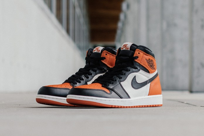 "Air Jordan 1 Retro High ""Shattered Backboard"""