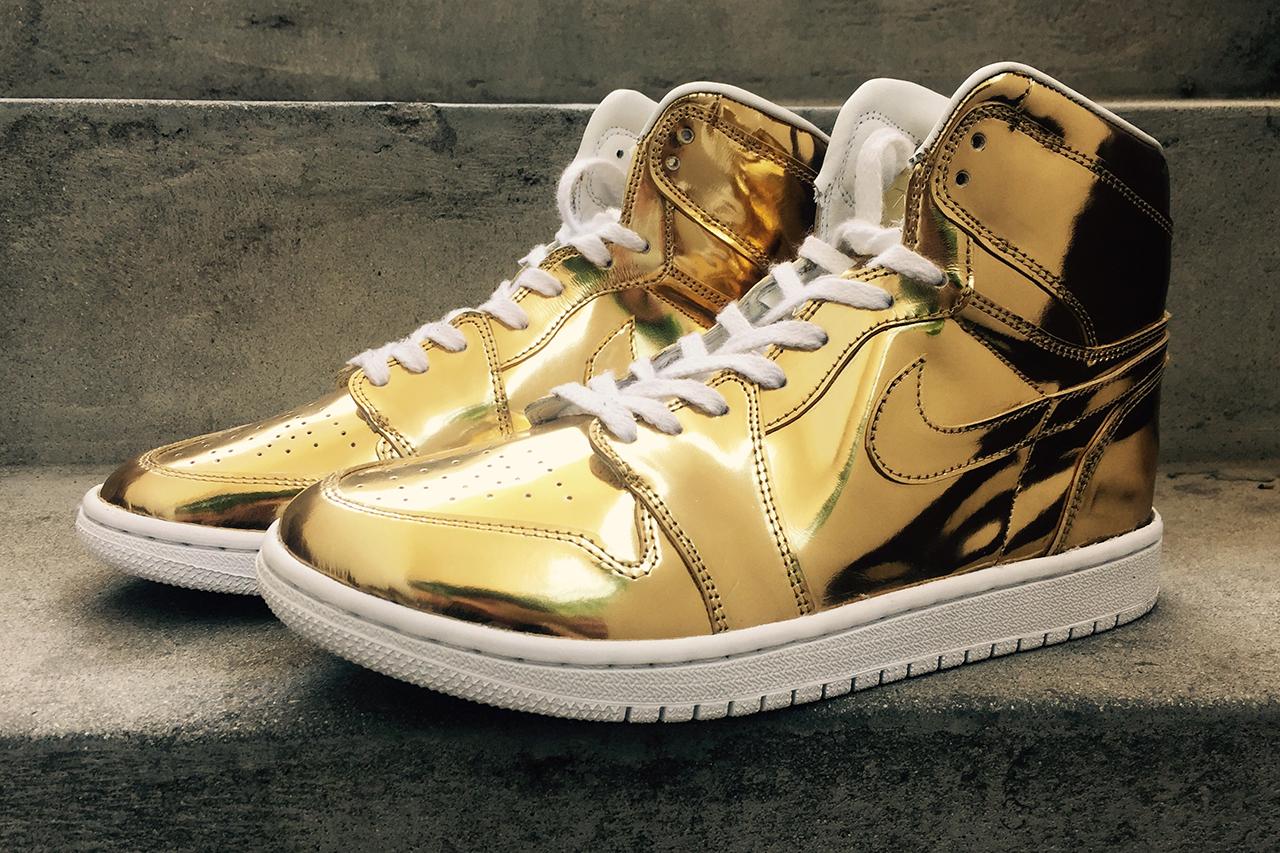 "Air Jordan 1 ""Liquid Metal"" Custom"