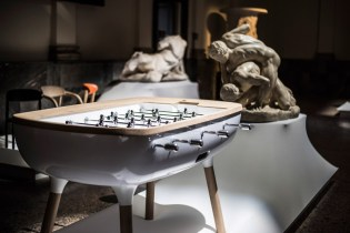 Alain Gilles Creates 'The Pure' Foosball Table for Debuchy by Toulet