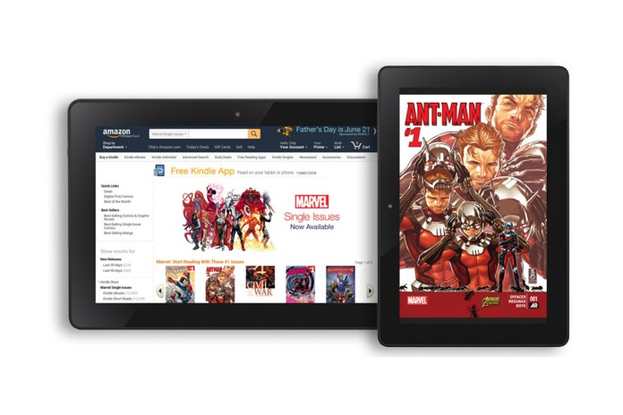 Amazon Brings Marvel Comics to the Kindle Store