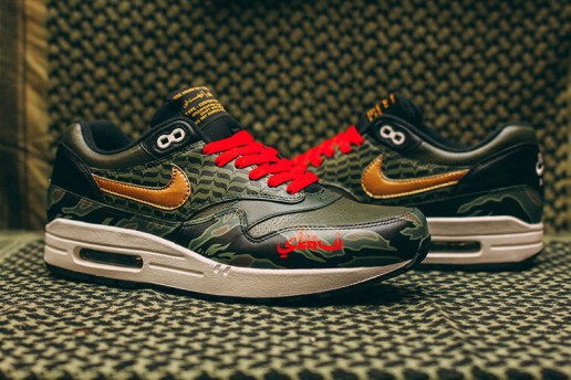 "amongst few x SBTG x Nike Air Max 1 ""Alpha Foxtrot"""