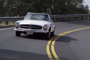"An Architect Discusses the Structural Beauty of the Mercedes-Benz 280 SL ""Pagoda"""