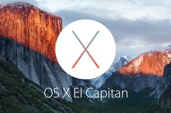 Apple Introduces OS X El Capitan