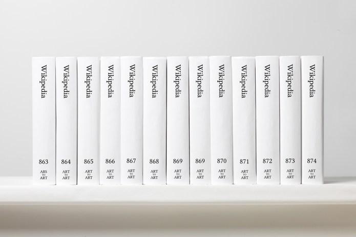 Artist Michael Mandiberg Prints out Whole of Wikipedia in 7,600-Volume Anthology