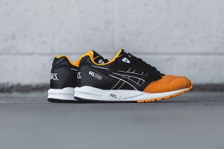 "ASICS GEL Saga ""Orange Pop/Black"""