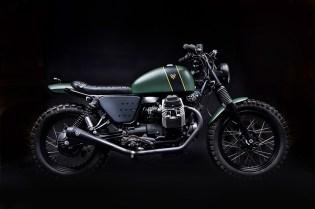 Bespoke Moto Guzzi V7 by Venier Custom Motorcycles