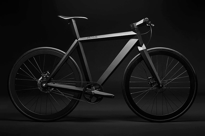 BME's Handcrafted B-9 NH 'Black Edition' Urban Stealth Bicycle