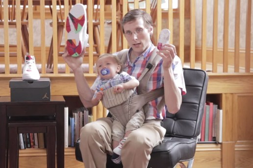 "Brad Hall Reviews the Air Jordan 7 Retro ""Hare"" With Some Help"