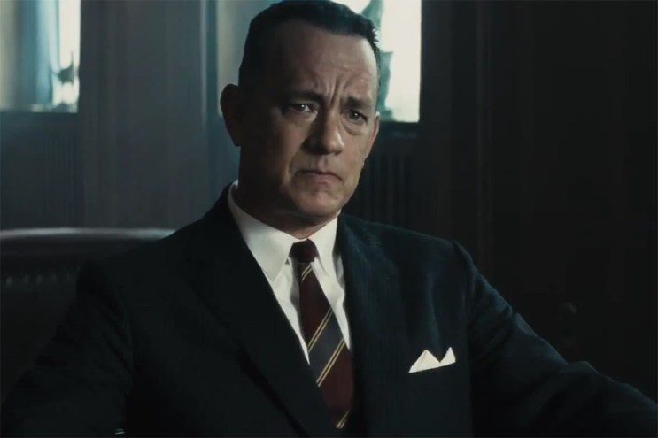Tom Hanks Stars in Steven Spielberg's Upcoming Film 'Bridge of Spies'