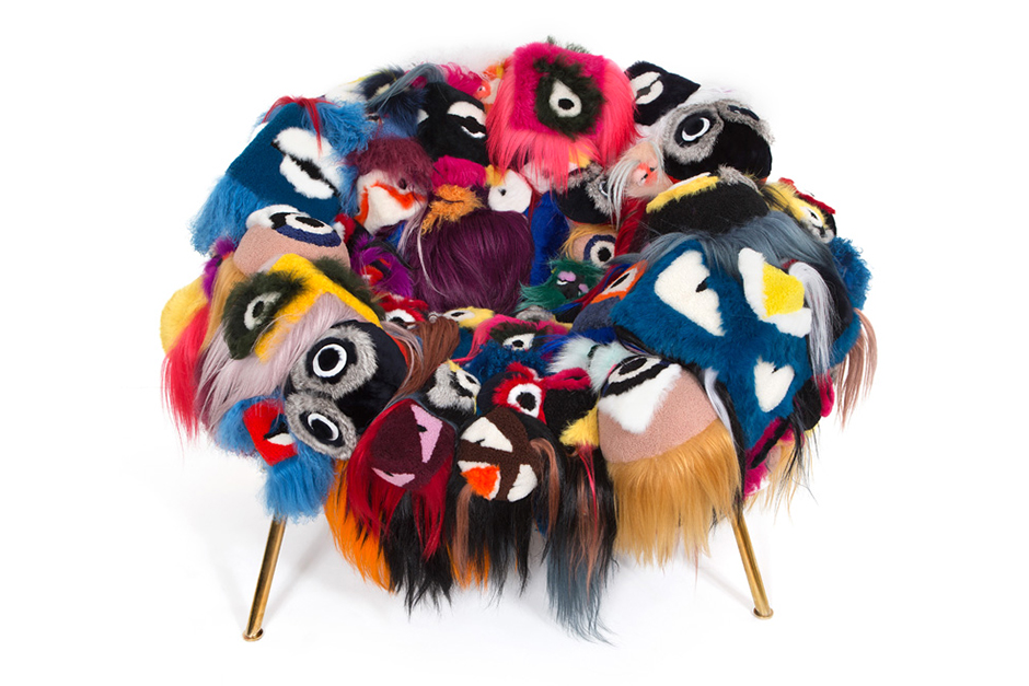 """Campana Brothers x FENDI """"The Armchair of Thousand Eyes"""""""