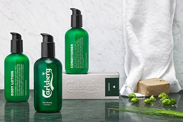 Carlsberg Launches Beer Beauty Series for Men
