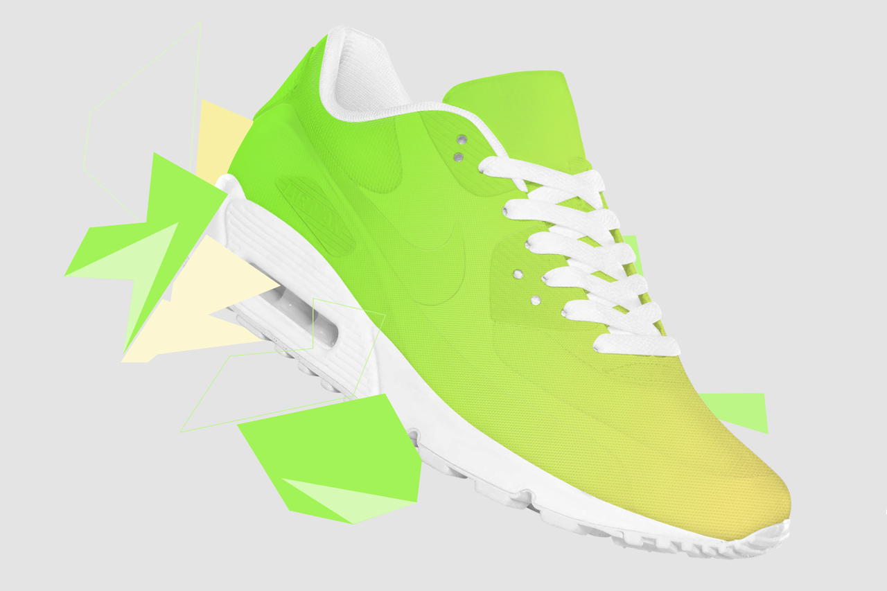 """Shift"" Color-Changing Sneaker Concept"