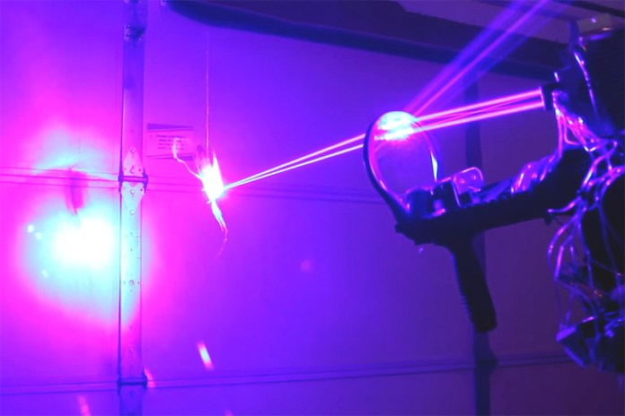 Check Out This Ridiculous Homemade 40W Laser Shotgun