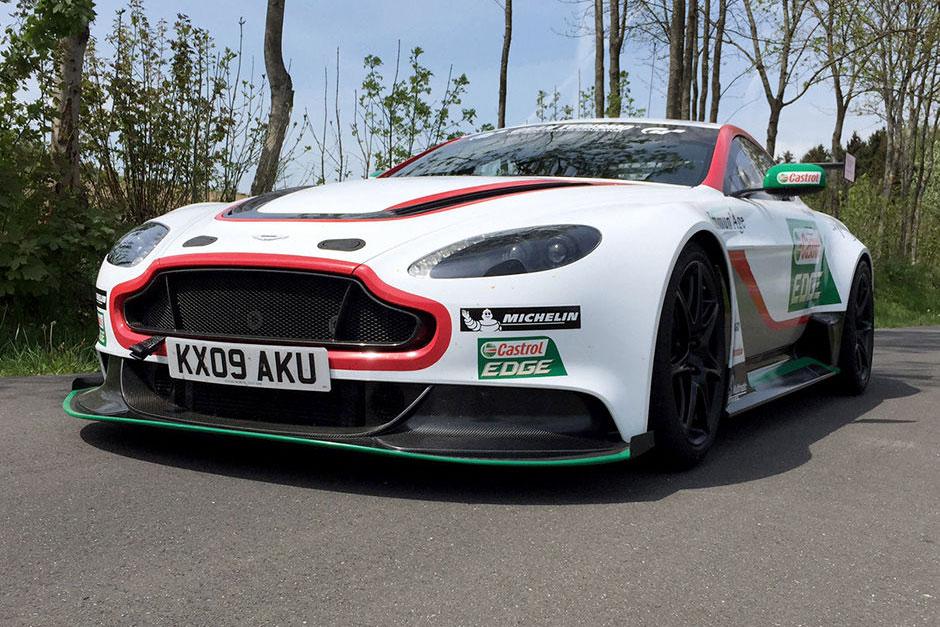 Chris Harris Drives the Aston Martin Vantage GT12 in the Legendary Nürburgring 24 Hour Race