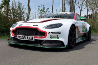 Chris Harris Drives the Aston Martin Vantage GT12 in the Legendary Nürburgring 24 Hour Race