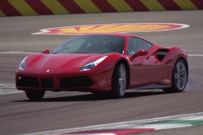 Chris Harris Hits the Road and Track in the Ferrari 488 GTB