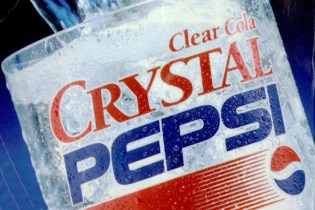 Crystal Pepsi Set to Make Comeback