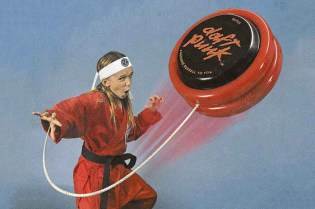 Daft Punk Releases '70s-Inspired Merchandise: Frisbees, Yo-Yos and Branded Caps