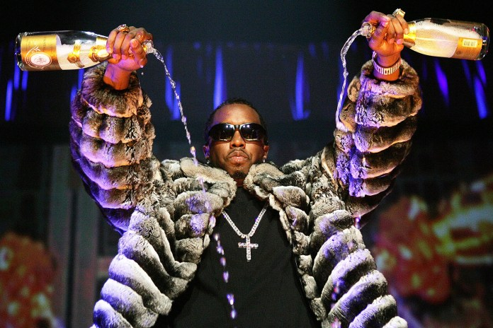 Diddy Unveils a Custom Pair of Yeezy Boost 350s