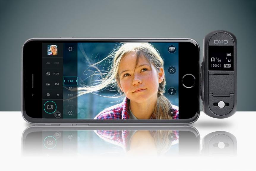 DxO ONE Plug-in iPhone Camera