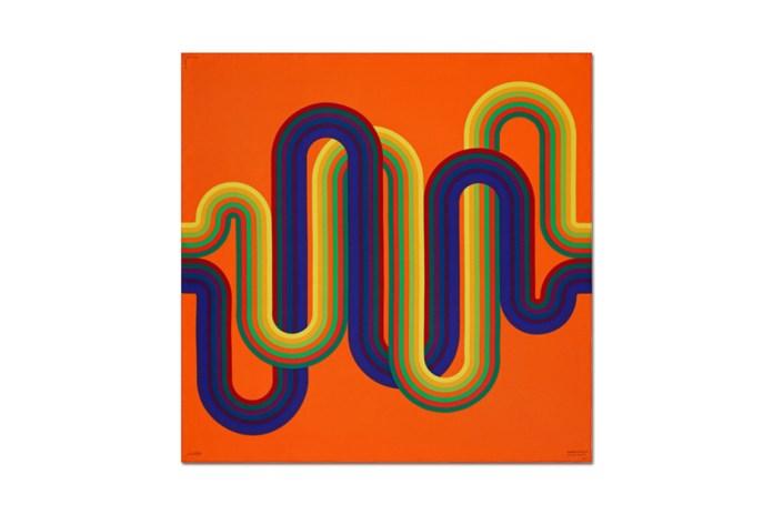 Fascinating Scarves by Julio Le Parc for Hermès Éditeur