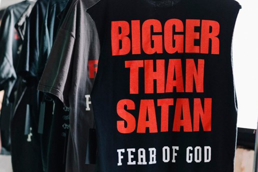 """Fear of God """"Resurrected"""" T-Shirt Pop-up at RSVP Gallery"""