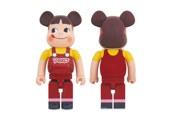 "Fujiya Co. x Medicom Toy ""Peko-Chan"" Bearbrick"