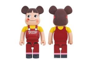 "Fujiya Co. x Medicom Toy ""Peko-Chan"" Bearbrick"