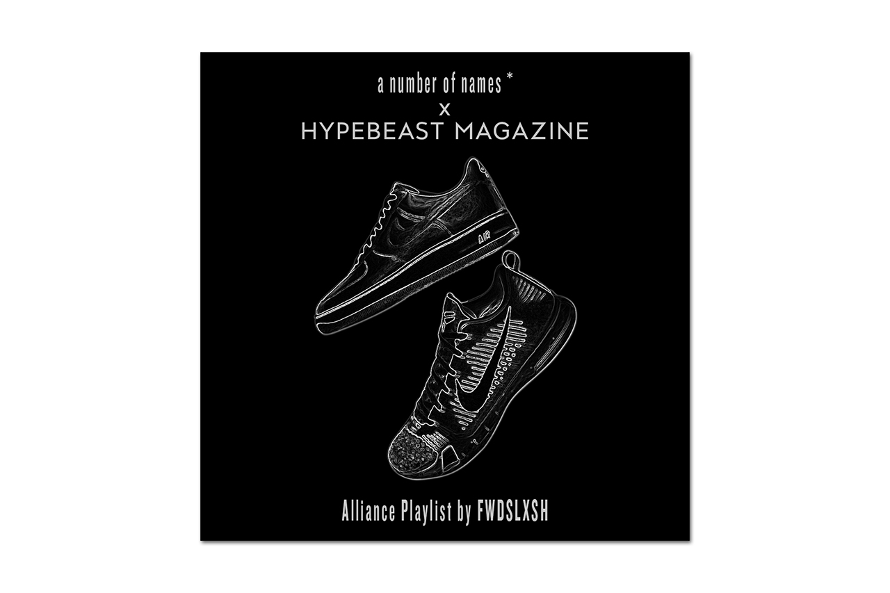 """FWDSLXSH Creates """"The Alliance"""" Mix for a number of names* and HYPEBEAST Magazine"""