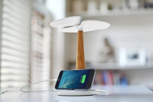 Ginkgo Solar Tree Charging Station
