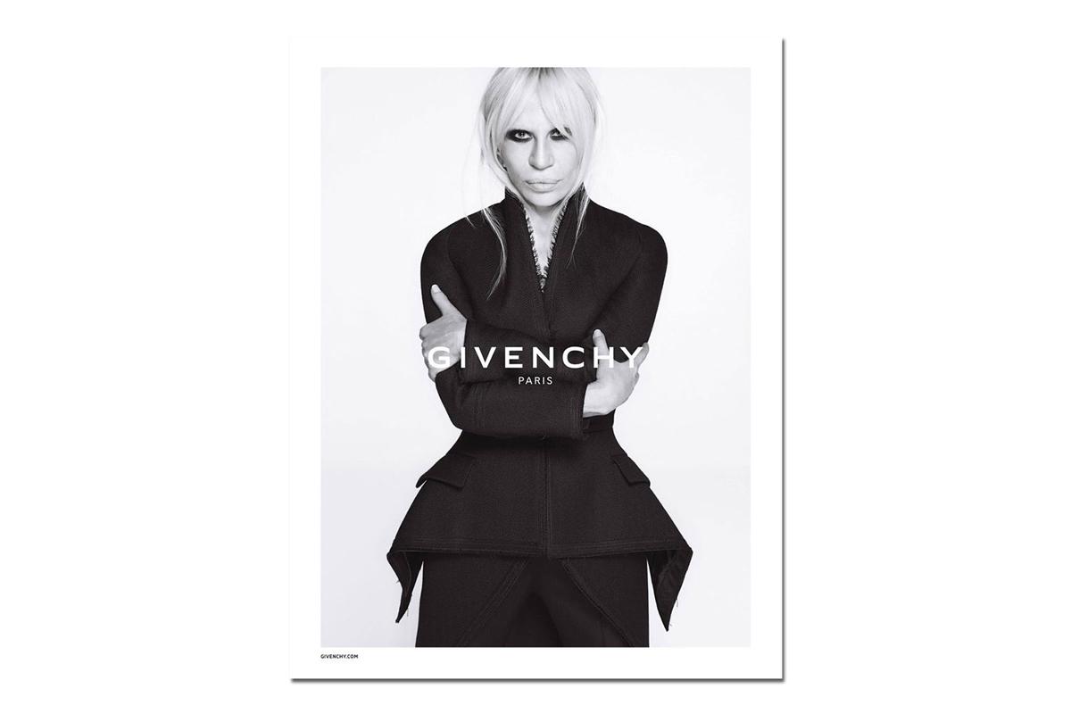 Givenchy 2015 Fall/Winter Campaign Starring Donatella Versace