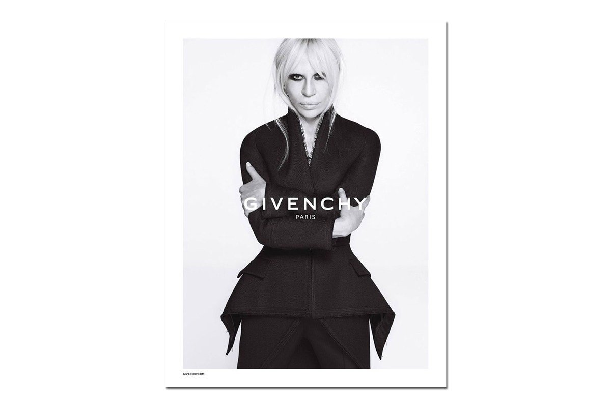 Givenchy 2015 Fall/Winter Campaign Starring Donatella Versace