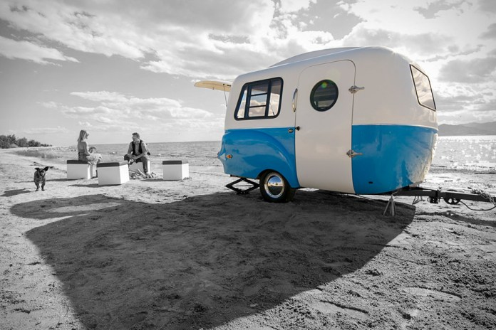 Happier Camper HCI Is a Retro Modern Trailer With an Adaptable Modular Interior