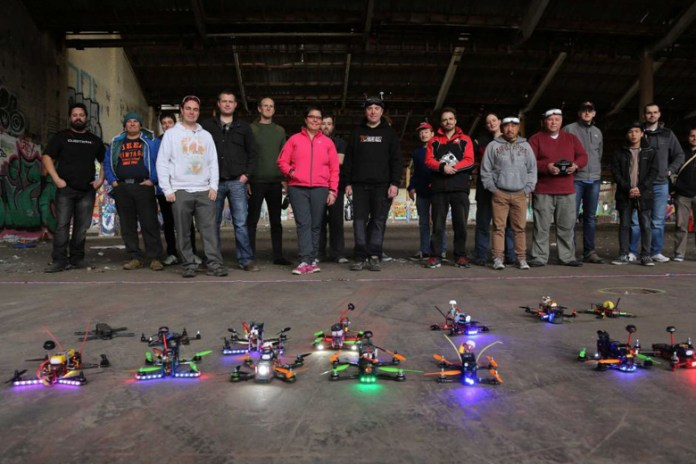 Check out This Epic, First Person View Video of a Drone Race