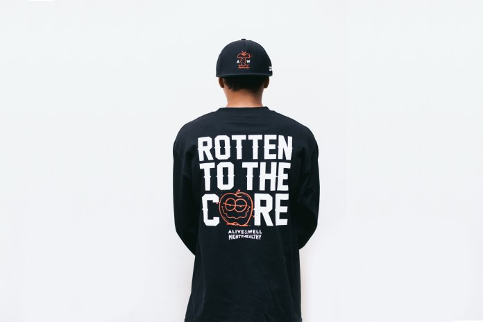 "Mighty Healthy x Alive & Well ""Rotten to the Core"" Collection"