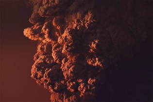 Incredible 8K Timelapse Video of a Volcano Eruption