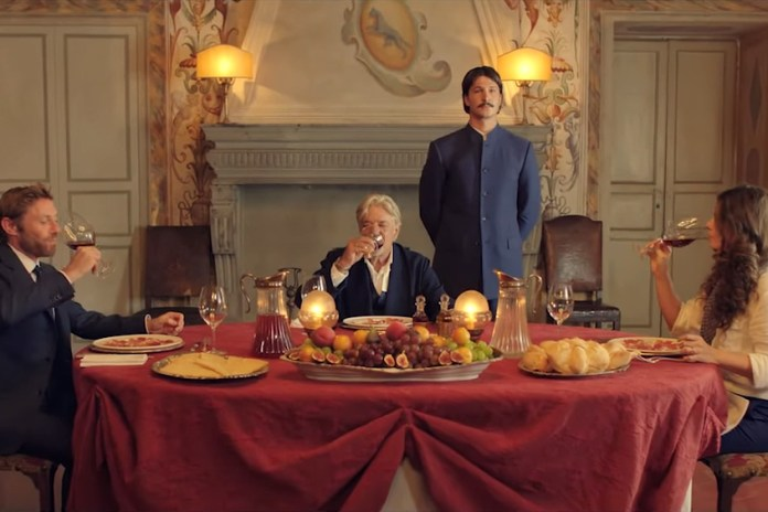 Italian Suitmaker Caruso's Fashion Film Demonstrates the Definition of a Gentleman