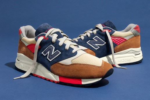 "J.Crew x New Balance 998 ""Hilltop Blues"""
