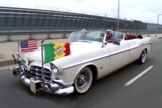 Jay Leno Gets the Presidential Treatment in the 1952 Chrysler Imperial Parade