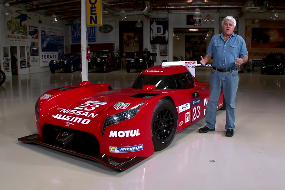 Jay Leno Takes a Closer Look at the Nissan GT-R LM Nismo