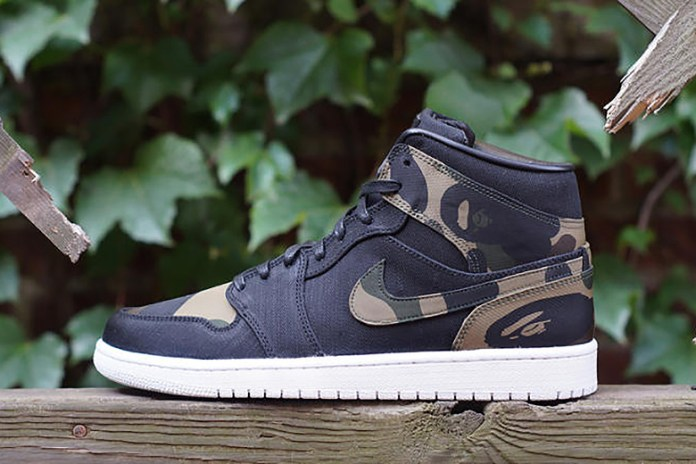 """JBF Customs Air Jordan I """"Bape"""""""