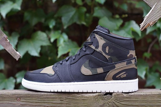 "JBF Customs Air Jordan I ""Bape"""
