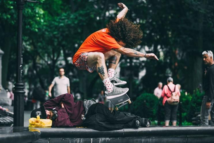 'Jenkem Magazine' Skate and Destroy the Yeezy Boost 350