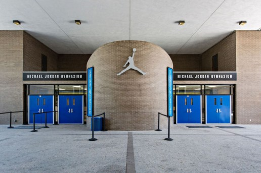 Jordan Brand Renovates Michael Jordan's High School Gym for Its 30th Anniversary