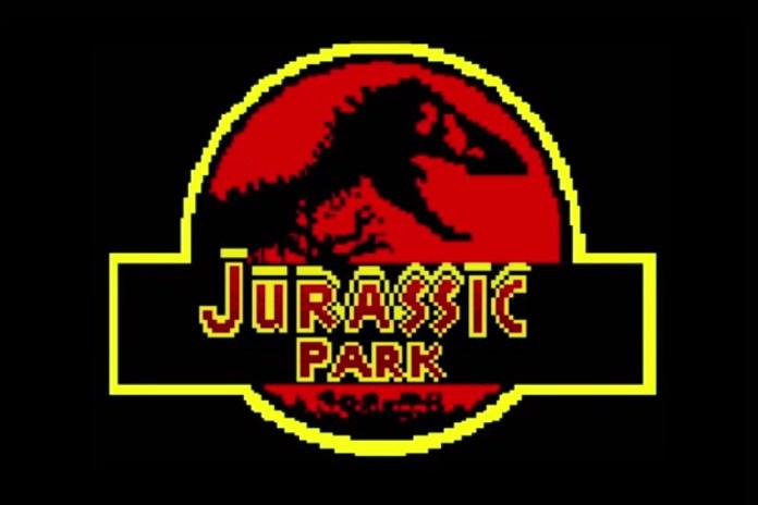 'Jurassic Park' in 8-bit
