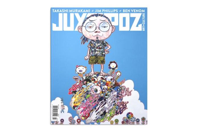 Takashi Murakami Covers 'Juxtapoz' Magazine's 2015 July Issue
