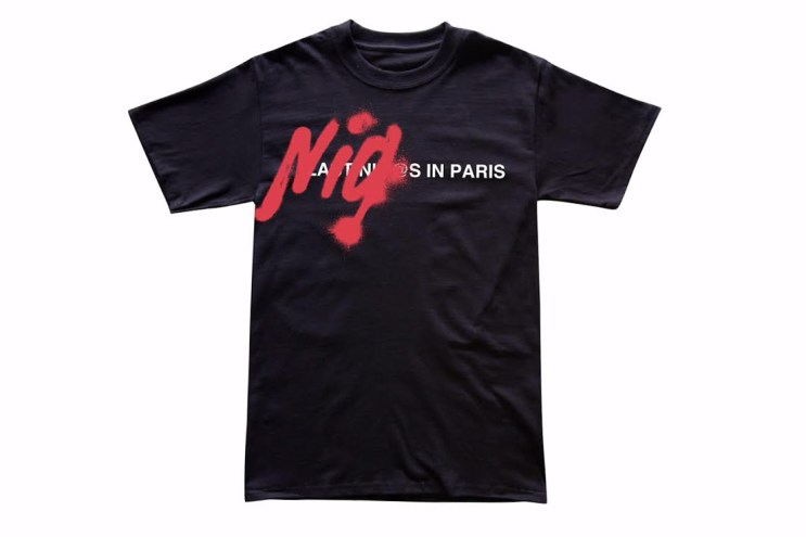"""Kidult Releases """"Double Standards"""" T-Shirt Inspired by the Defacement of Paris's A.P.C. Store"""