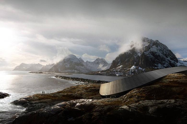 Lofoten Opera Hotel By Design Firm Sn U00f8hetta In Norway